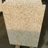 Owner Quarry Factory G682 Yellow Rusty Granite Paving Stone, Nature Stone G682 Cheap Price