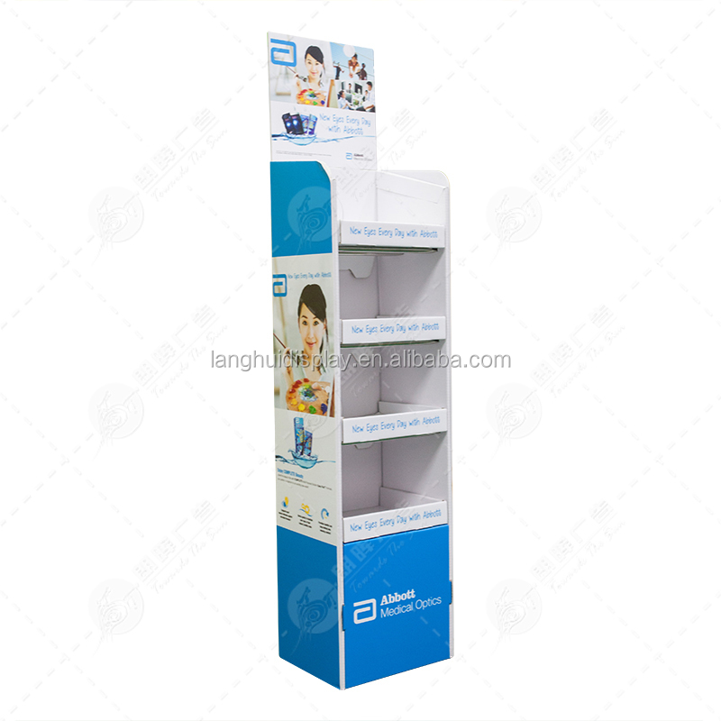 camera floor stand customized display stand cardboard counter perfume counter display display stand cardboard