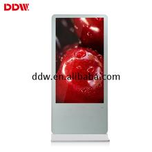 55 inch large size vertical totem digital signage kiosk manufacturers in guangzhou ultra thin