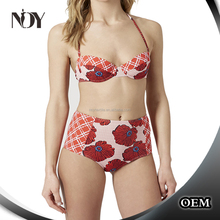 top sale high waist swimming suit girls popular
