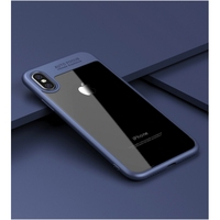 Strong Case TPU+Clear Acrylic Back Panel Back Case for iPhone X