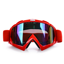 New design high quality Anti-Scratch Clear Vision Anti-fog vintage motorcycle goggles with PC lens