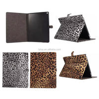 New Leopard Wallet Stand Leather Case for iPad Pro 12.9