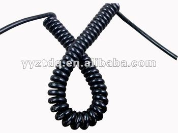PVC PU Spiral cable