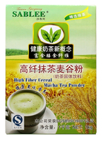 SABLEE high fiber cereal matcha tea powder for tea drinks with halal 1kg