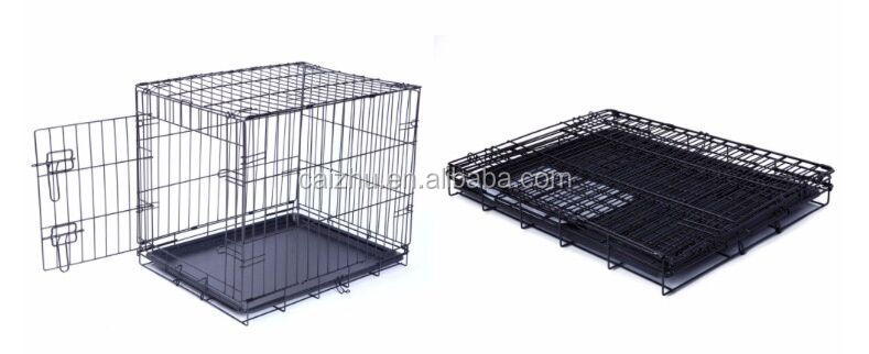 High Quality Foldable Heavy Duty matal wire Dog Cage