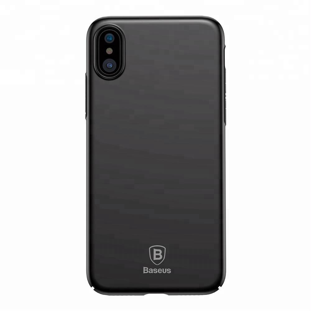 Baseus Phone Case For iPhone X Case Ultra Thin Slim Protection Phone Case For Apple iPhone X Back Protective <strong>Cover</strong>