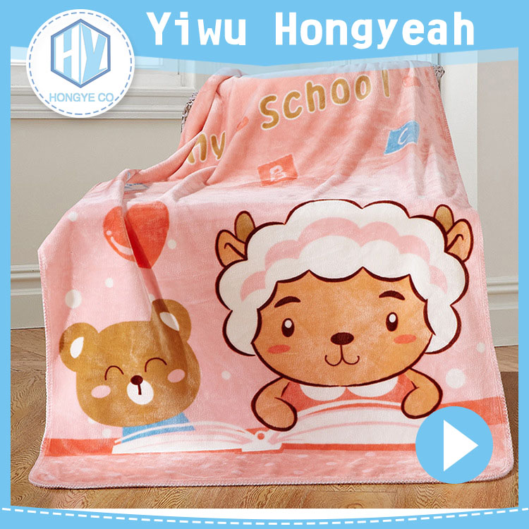 Super Super soft fleece blanket 2ply embossed baby blanket wholesale