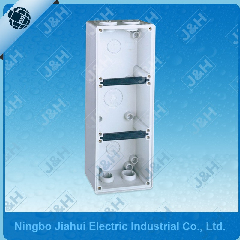 zhejiang ningbo waterproof plastic enclosure box, IP66 australian plastic PC enclosure base 56E3, electronic plastic enclosures