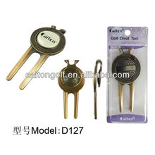 Classical Style golf divot fixer with marker golf divot tool D127 Warehouse Golf