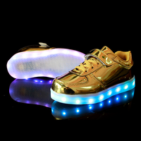 Kids New Fashion Colorful USB Charging Sport LED Lights For SHOES