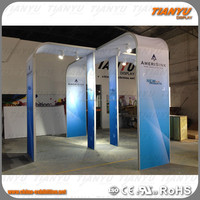 Innovative modular portable custom tradeshow display booth design