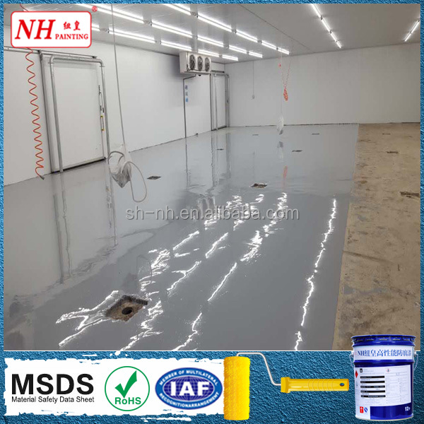waterborne car park floor waterproofing epoxy floor coating