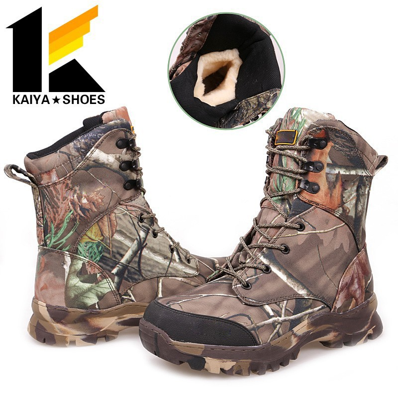 Waterproof Camouflage Military Liberty Jungle Boots/Rubber Jungle Boots