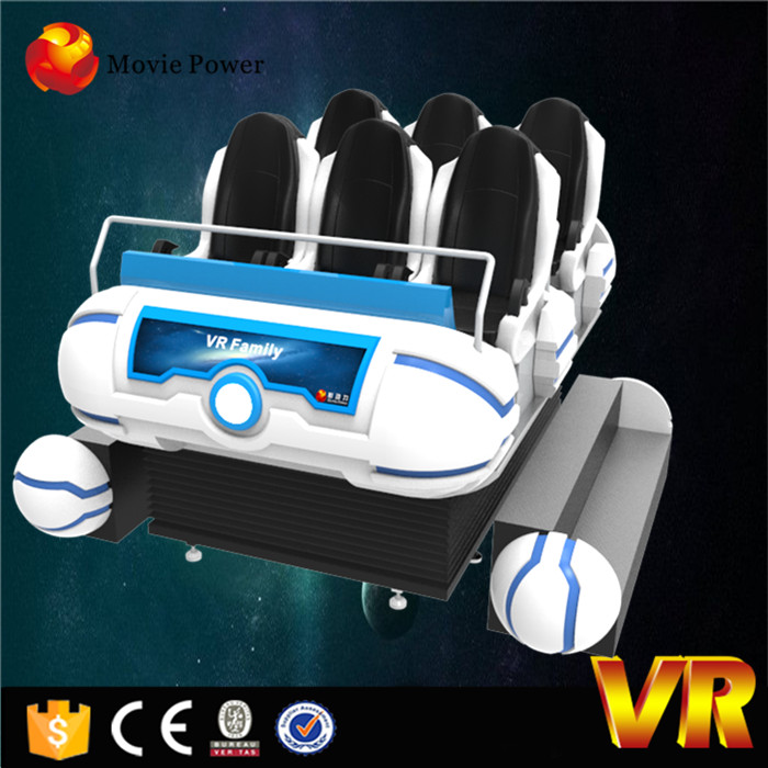 Virtual Reality 6 Seat 9d Cine, Hd Interstellar Movie For 9dvr