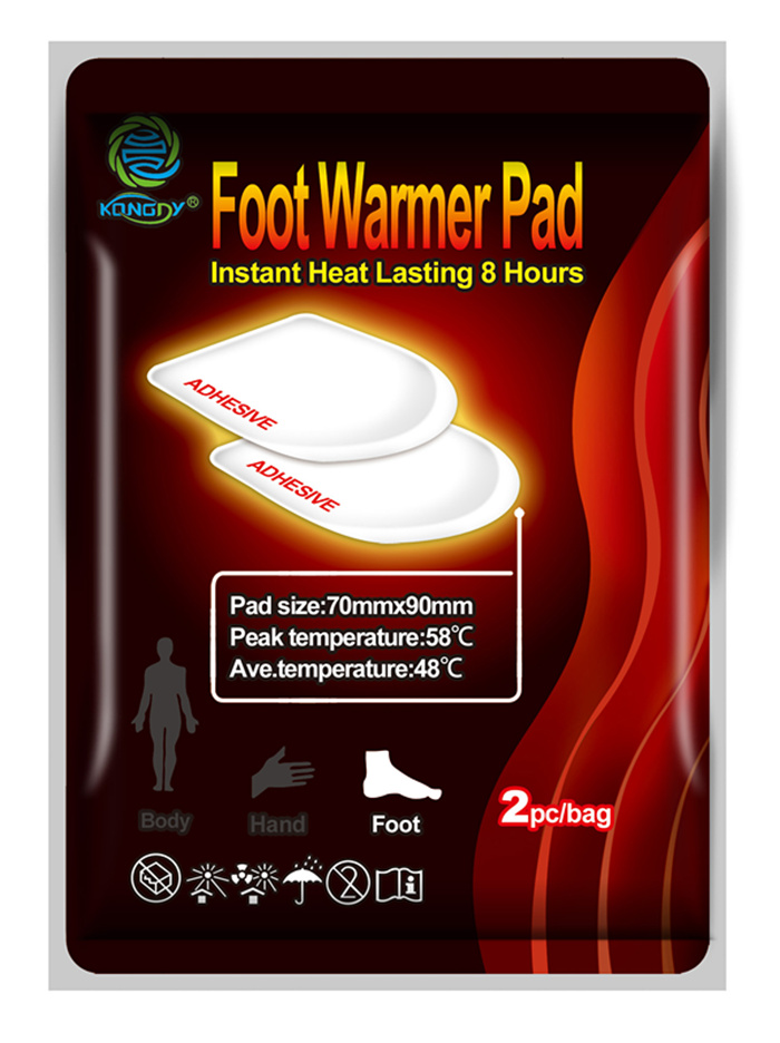 Care your foot heating 12 hours toe warmer pad