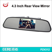 factory price car mirror, 4.3 inch car lcd rear view mirror,car blind spot mirror