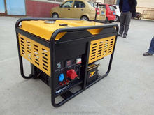 High Quality Portable Generator lower power 1kva-15kva diesel generator set with Cummins engine wholesale price best quality