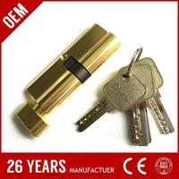 stable performance iron one side key one side knob cylinder lock for husky truck box tool box with CE certificate