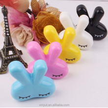 cheap custom rabbit contact lens case/contact lenses case wholesale