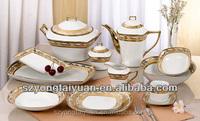 Pakistani dinner set 47pcs dinner set porcelain