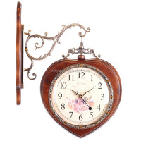 Durable Digital Wall Clock Decorative Wooden