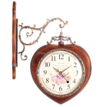 Durable Digital Wall Clock Decorative Wooden Clock For Home Appliance