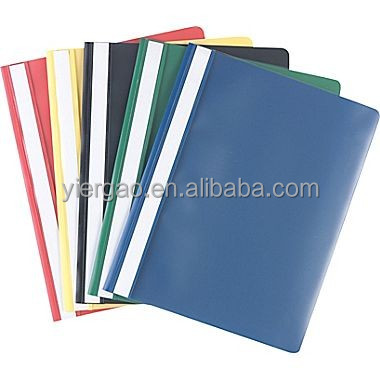 A4 size plastic PVC file folder report file cover