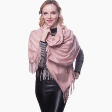 Oversized skiny Luxury whosale plain solid 100% pure color pashmina shawl in delhi vietnam pashmina scarf distributors