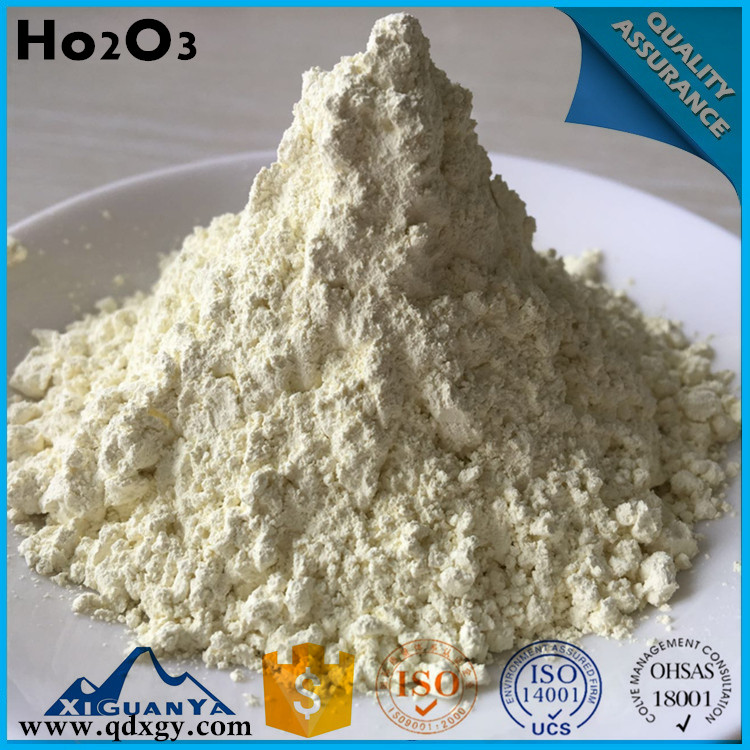 Rare earth light yellow powder Ho2O3 Holmium Oxide
