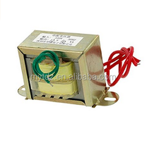 220V 50Hz Single Phase EI Core Power Transformer 12V 10W Output w Cable