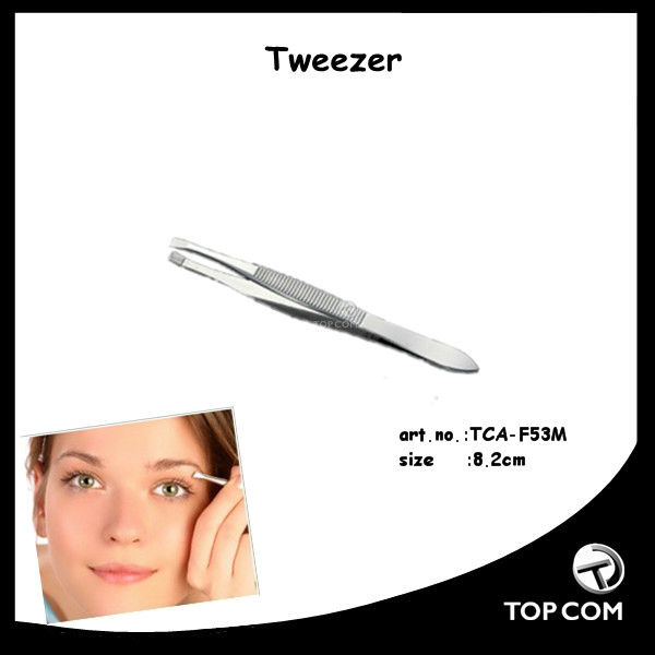 silvery man tweezer curly with round tail distributor