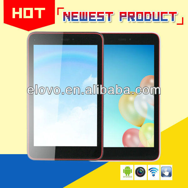 classical new quad core tablet 7 inch android 4.2 mtk6589 with 3G GPS Bluetooth FM 5MP camera