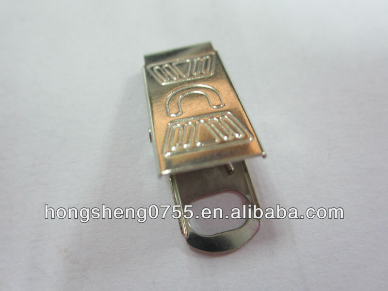 Metal flat clip without teeth for wholesale by china factory
