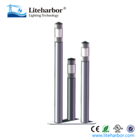 UL 13W stainless steel decorative bollard outdoor led path lights