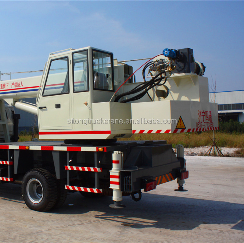 STSQ8B Pickup Mobile Lift New Small Hydraulic Crane With Basket