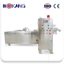 Automatic kfc crispy chicken frying machine processing line
