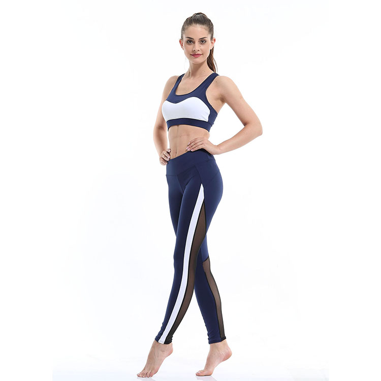 custom Sexy hip tights fitness yoga mesh new design metallic workout women  leggings