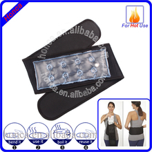 Click heat lower back hot pack with belt