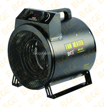 industrial Electric fan forced air Heater 3kw