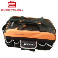 QXJG-LGB-1001 1200D polyester hand pull rod bags tool bag OEM ODM rolling tool bag
