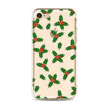 2017 Christmas series transperant tpu for iphone 6 case tpu, wholesale cell phone case for iphone 7 plus mobile phone