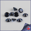 Wuzhou high quality round diamond cut synthetic spinel gemstones for jewelry