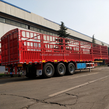China Factory CIMC Fence Cargo Semi Trailer 3 Axle 40ft Semi Trailers for Sale