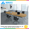 High top meeting table conference desk with aluminium frame MS-11