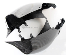 Motorcycle parts carbon fiber seat section side fairings for Suzuki GSXR 1000