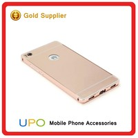 [UPO] New Arrival Aluminum Bumper Hard Plastic PC Phone Cover Case for Huawei P8