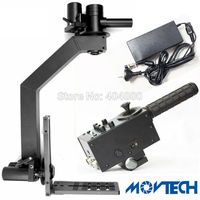professional video camera jib crane 2 axis motorized head ultra quiet big torque