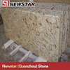 prefab yellow granite bar top