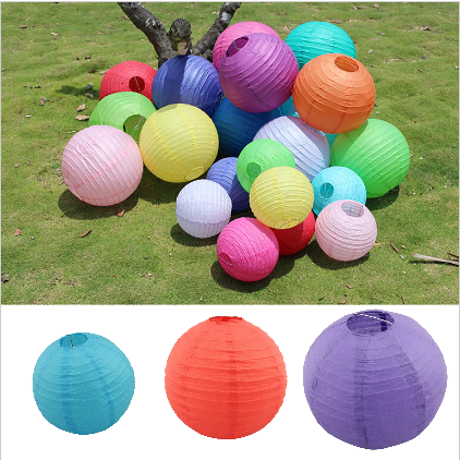 8inch 20cm wholesale holiday <strong>wedding</strong> supplies party decoration paper lantern